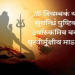 Maha Mrityunjaya Mantra Purascharana in Hindi