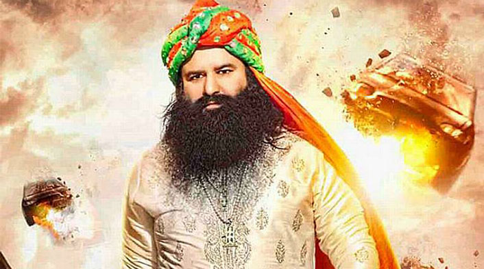 many criminal case against baba ram rahim