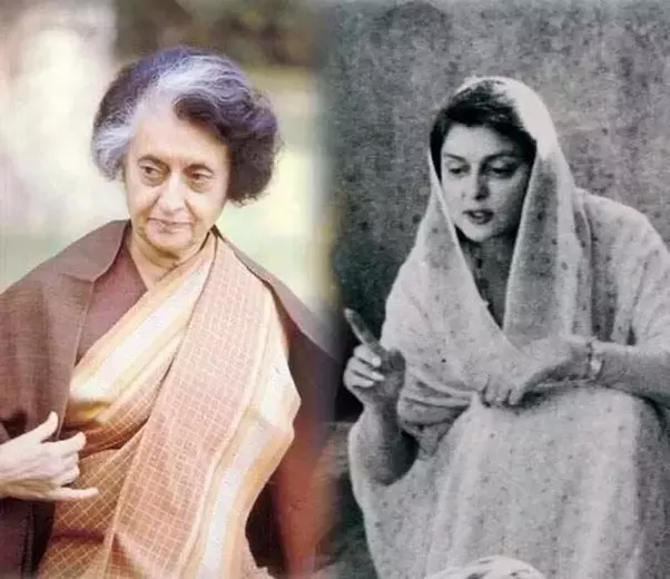 indira-gandhi-and-gaytri-devi