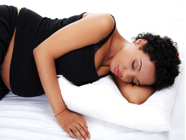 right posture to sleep during pregnancy