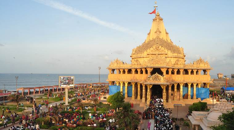 Somnath Jyotirling In Gujarat a famous temple of shiva