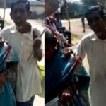 HUMANITY SHAMED! HINDUTVA GOONS IN WEST BENGAL FORCING ELDERLY BLIND MUSLIM BEGGARS TO CHANT JAI SHR