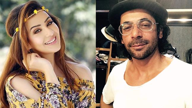 A fight between Shilpa Shinde and Sunil Grover