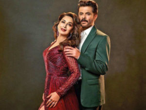 Anil and madhuri