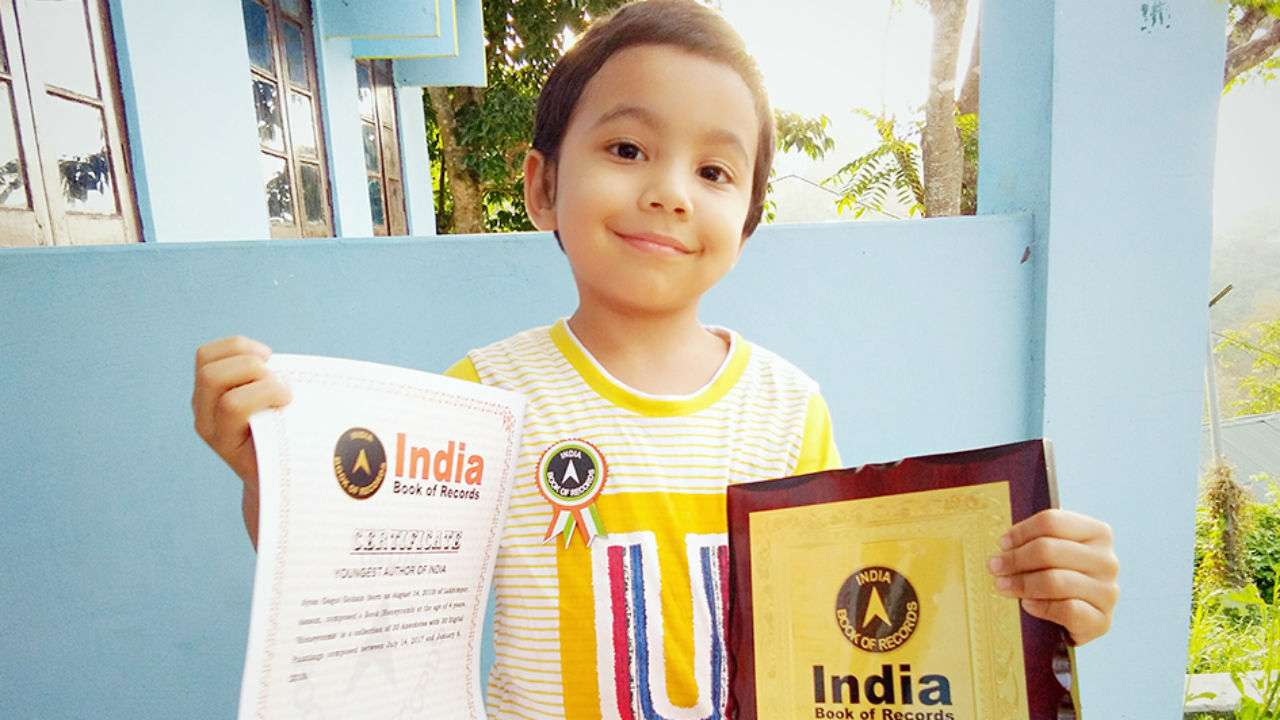 Meet India's youngest writer, 4-year-old Ayan Gogoi Gohain