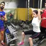 Virat kohli shared a gym session with wife anushka sharma got trolled
