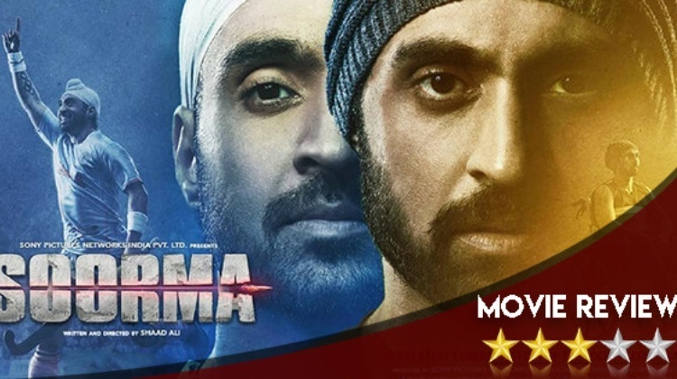 Soorma Movie Review In Hindi SOORMA FILM REVIEW: सूरमा किसी सूरमे से कम नहीं soorma movie review in hindi hockey player sandeep singh biopic starring diljit dosanjh tapsee pannu is a must watch