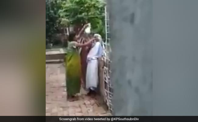 Woman mercilessly beats mother-in-law for plucking flower from plants