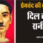 Dil ki rani hindi story by premchand