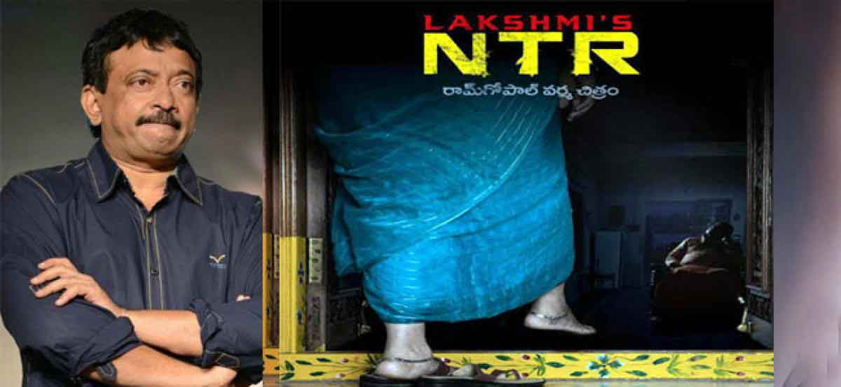 Ram Gopal Varma officially launched the film Lakshmi\'s NTR which will depict the life of SR NTR. The film mainly concentrates on the incidents that have taken place from the entry of Lakshmi Parvathy in NTR\'s life to the actor cum politician\'s death  https://www.thehansindia.com/posts/index/Cinema/2017-10-11/RGV-Denies-Rumours-On-Lakshmis-NTR-Casting/332593