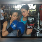 bollywood vishesh watch the boxing session of kareena kapoor khan and amrita arora