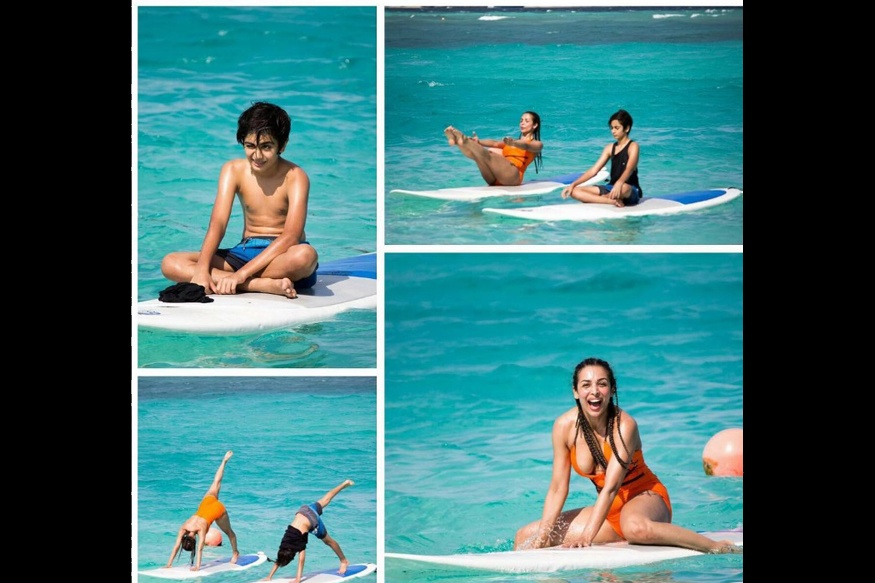 Malaika Arora Khan UNSEEN Bikini Photos From Maldives Vacation