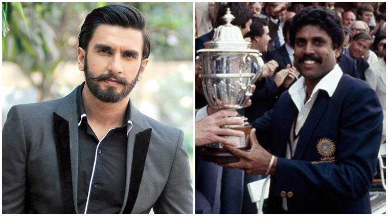 Ranveer Singh shares first look as Kapil Dev in '83'