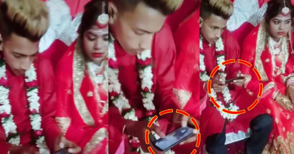 Viral TikTok Video Shows Groom Playing PUBG at His Own Wedding