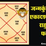 Rahu in Eleventh House in Hindi