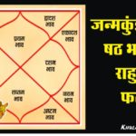 Rahu in Sixth House in Hindi