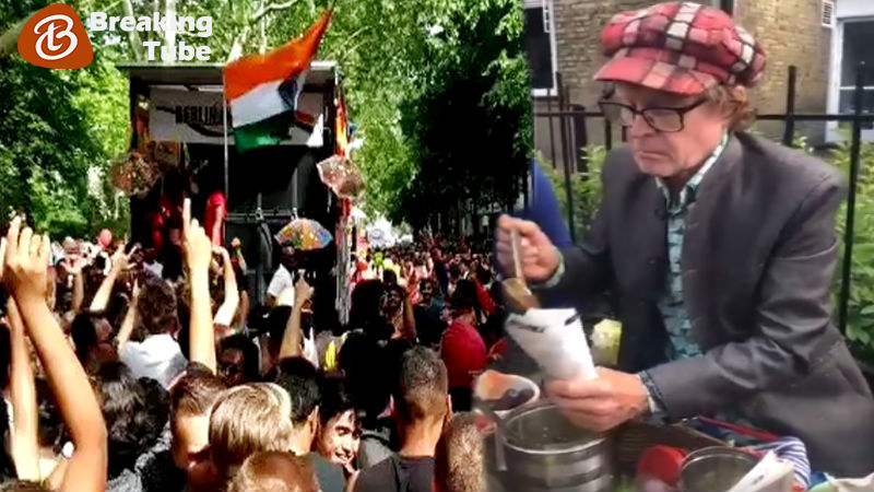 Did Cricket Fans Really Dance to 'Lollypop Lagelu' on London Streets During World Cup?