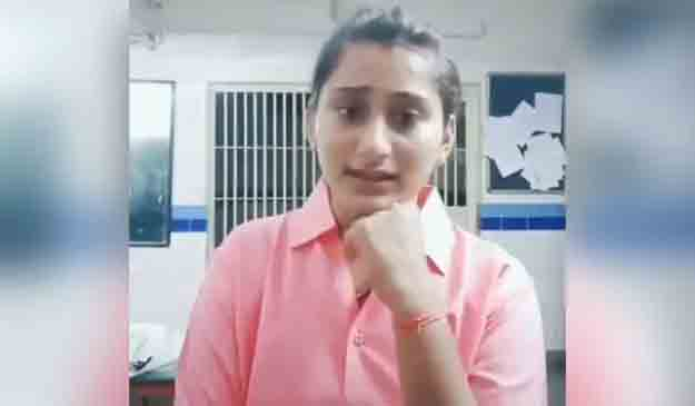 Gujarat woman cop Arpita Chaudhary suspended for dancing in police station, TikTok video Viral